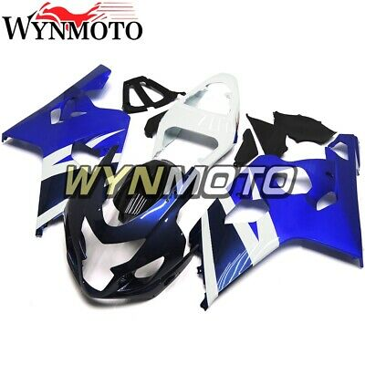 $419.99 • Buy For GSXR600 GSXR750 2004 2005 ABS Injection Mold Bodywork Fairing Kit Cowl Blue