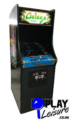 £1895 • Buy Namco Midway Galaga Arcade Machine - Ready To Play - Games Room Man Cave