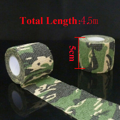 £1.04 • Buy Outdoor Camo Gun Hunting Waterproof Camping Camouflage Stealth Duct Tape Wrap