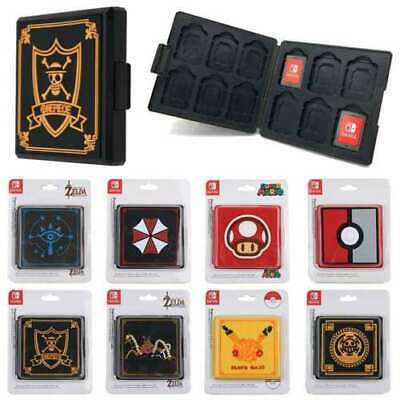 £5.39 • Buy Portable Game Card Storage Box Holder Case Cover Organizer For Nintendo Switch