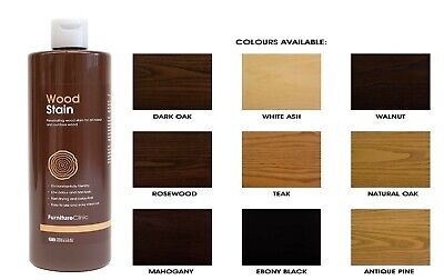 £5.49 • Buy Wood Stain Many Colours Effective Wood Stain For Indoor & Outdoor Wood Free Ship