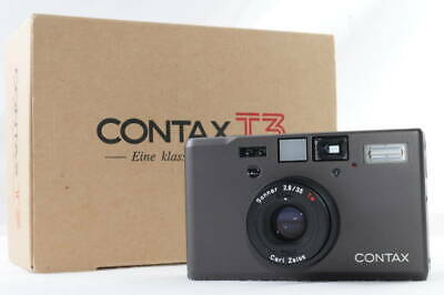 $ CDN5311.97 • Buy Contax T3 T3D Single Teeth Titanium Black Film Camera 421