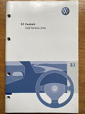 $8.21 • Buy VOLKSWAGEN GOLF MK5 JETTA OWNERS HANDBOOK MANUAL 3.1 CONTROLS  05-09 Print 2007