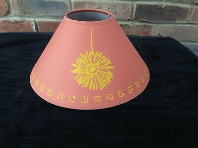 12 Terracotta Orange Lamp Shade Coolie Cone Table Lamp Ceiling Shade    • 9.95£