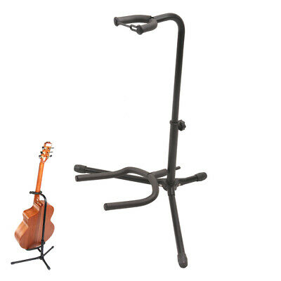 $ CDN28.15 • Buy Alloy Floor Guitar Stand Stable Tripod Holder For Acoustic Electric Guitar Bass