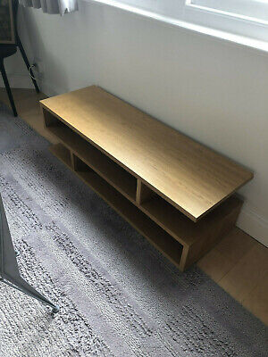 £20 • Buy Content By Terence Conran Oak Veneer Console Unit/coffee Table