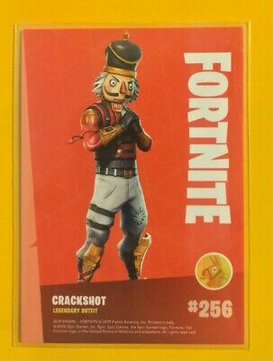 $ CDN17.02 • Buy Panini Fortnite Series 1 Trading Card Legendary #256 Crackshot MINT Non-holo