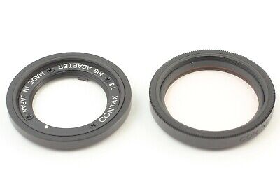 $ CDN206.11 • Buy 【Excellent+++++】 Contax T3 30.5 Adapter Filter Black For T3 From Japan #411