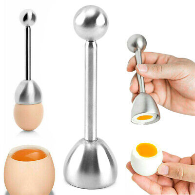 £3.69 • Buy Boiled Egg Shell Cutter Topper Opener Kitchen Useful Tools Stainless Steel Tool