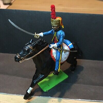 £19.99 • Buy BRITAIN'S HELMET FRENCH HUSSAR NAP CONVERSION PAINTED 1/32nd FIGURE