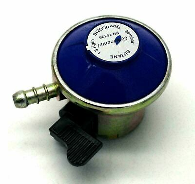 21mm BUTANE GAS REGULATOR FOR 21mm CALOR & FLOGAS CYLINDERS 30mbar • 6.95£