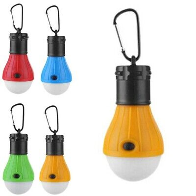 £4.15 • Buy 1pc ABS Mini LED Camping Tent Light Outdoor Hike Fishing Lantern Lamp Equipment