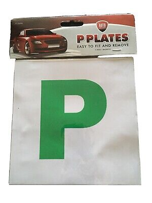 Fully Magnetic P Plates (2 In Pack) • 1.99£