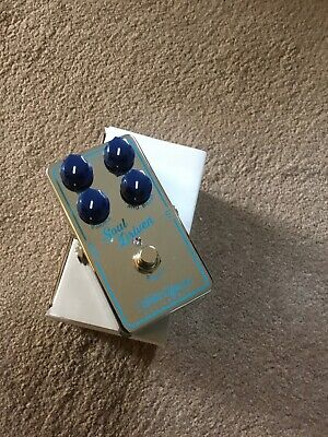 Guitar Overdrive Pedal. Xotic Soul Driven. Used But In Good Condition. • 95£