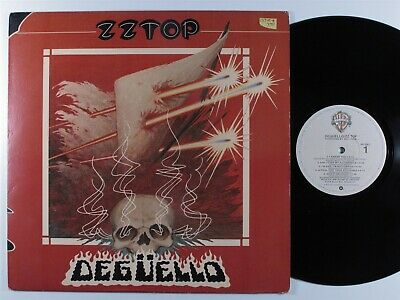 AU19.86 • Buy ZZ TOP Deguello WARNER BROS LP VG+ ~