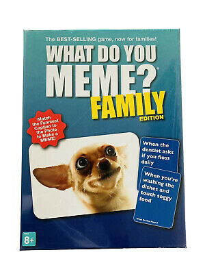 "AU20.98 • Buy ""What Do You Meme?"" Family Edition Game - New (Sealed)"