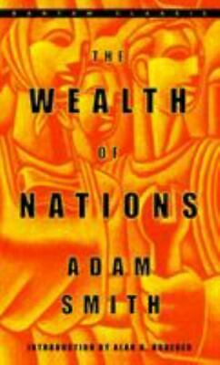AU13.95 • Buy The Wealth Of Nations By Adam Smith And Adam Smith (2003, Mass Market, Reprint)