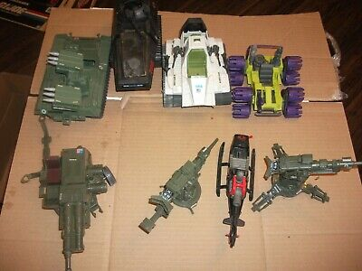 $ CDN40.17 • Buy 1980s-90  #413 Batch LOT Vintage 3 3/4  Gi Joe Vehicles & Parts