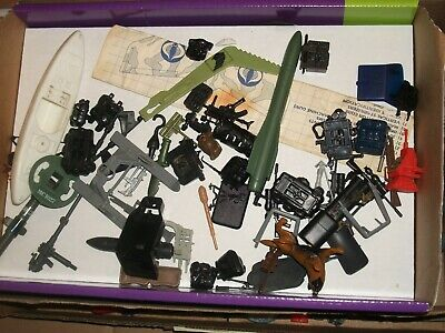 $ CDN61.51 • Buy 1980s-90  #20 Batch LOT Vintage 3 3/4  Gi Joe Vehicle & Figure Parts