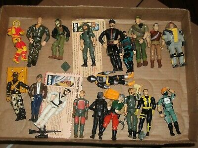 $ CDN92.90 • Buy 1980s-90  #61 Batch LOT Vintage 3 3/4  Gi Joe Figures