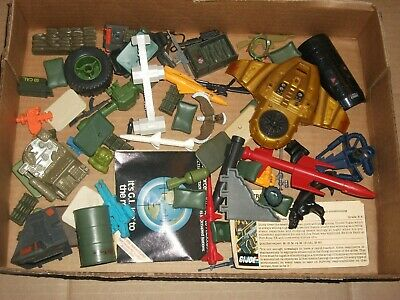 $ CDN46.45 • Buy 1980s-90  #112 Batch LOT Vintage 3 3/4  Gi Joe Vehicle & Figure Parts