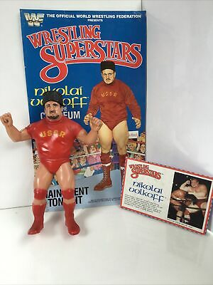 AU100 • Buy Wwf LjnNikolai Volkoff With Hat Poster And Card