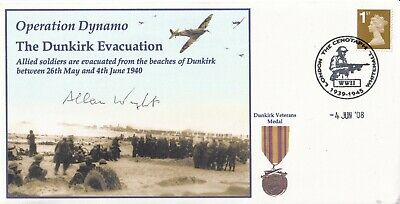 £9.95 • Buy Operation Dynamo  Dunkirk Evacuation Signed A R Wright Battle Of Britain Pilot