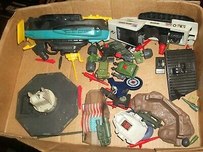 $ CDN57.75 • Buy 1980s-90  #457 Batch LOT Vintage 3 3/4  Gi Joe Vehicle & Figure Parts