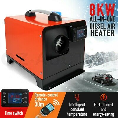 AU229.95 • Buy 12V 8kW Diesel Air Heater RV Parking Heater All In One W/ LCD Remote Control