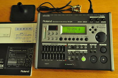 AU1105.85 • Buy Roland TD-20X V-Drums Percussion Sound Module Brain Power Cable & CF & Manual