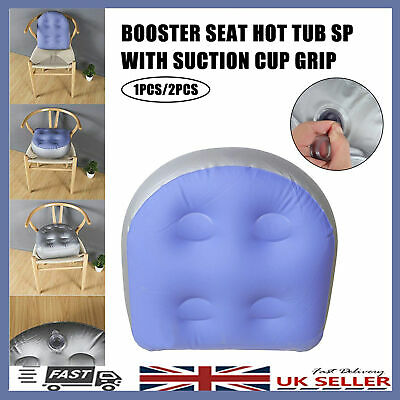 £11.92 • Buy Soft Home Spa Booster Seat Inflatable Spa Cushion Back Pad Hot Tub Bathing