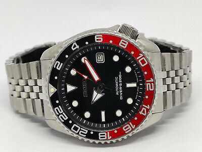 $ CDN64.02 • Buy Seiko Diver Automatic Watch 7002-7000 Black Prospex Face Mod Sn 170643