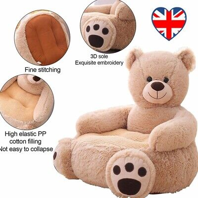 £27.99 • Buy Sofa Chair Toy Seat Baby Toddler Chair Armchair Animal Plush Gift Child