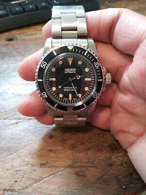 $ CDN326.39 • Buy 5513 Submariner Mod Seiko NH35 Automatic Stainless Mens Diver Watch Nice!!!