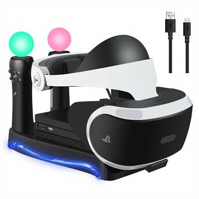 AU27.29 • Buy 4 In 1 Dock Charging Stand For PS4 VR II PS Game Controller Charger Holder AU