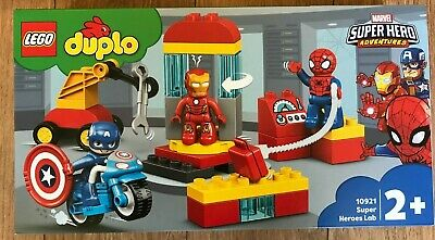 £29.95 • Buy LEGO DUPLO 10921 Super Heroes Lab 30 Pieces Age 2 + ~ Brand NEW ~