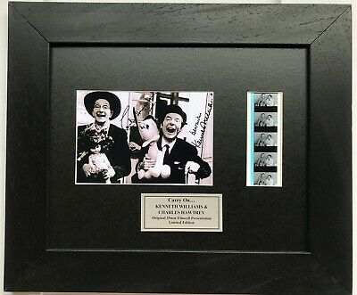 £34.99 • Buy Carry On KENNETH WILLIAMS & CHARLES HAWTREY Signed Reproduction