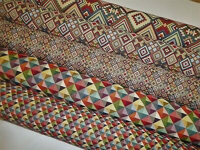 £12.50 • Buy TAPESTRY WEAVE FABRIC Upholstery / Cushion / Curtains / Crafts ( 5 DESIGNS )