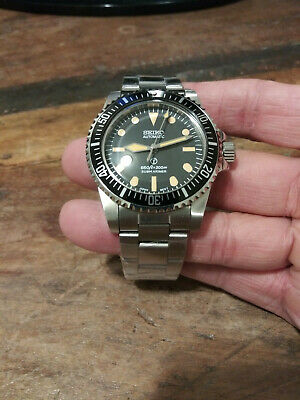 $ CDN382.88 • Buy 5517 Milsub Submariner Seiko NH35 Automatic Stainless Mens Diver Watch Nice!!!