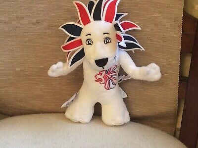 Official Team GB Pride The Lion Mascot Soft Toy London 2012 Olympic Games • 5£
