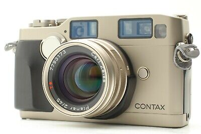 $ CDN1999.67 • Buy 【TOP MINT Read】 Contax G2 Rangefinder Camera + Planar 45mm F2 T* From JAPAN #623