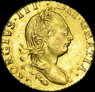 £5560 • Buy Extremely Rare King George The Iii 1775 Half Gold Guinea...