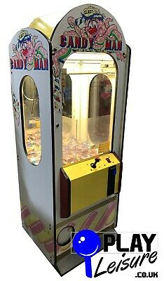 £695 • Buy Candy Man Sweet Grabber Arcade Machine - Ready To Play - Games Room Man Cave