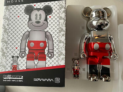$202.49 • Buy Sorayama Bear Brick Future Mickey 100% 400% DCon 2020 Exclusive-Read Description