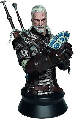 $ CDN175.38 • Buy The Witcher 3 Wild Hunt Geralt Playing Gwent Bust Statue