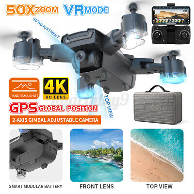 AU120.89 • Buy RC Drones With 4K HD Camera GPS X Pro 5G WIFI FPV Foldable Quadcopter 2021 🔥 #
