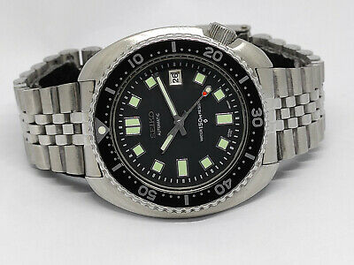 $ CDN143.74 • Buy Seiko Diver Automatic Watch 6309-7040 Turtle 6105 Apocalypes Modded Sn.921593