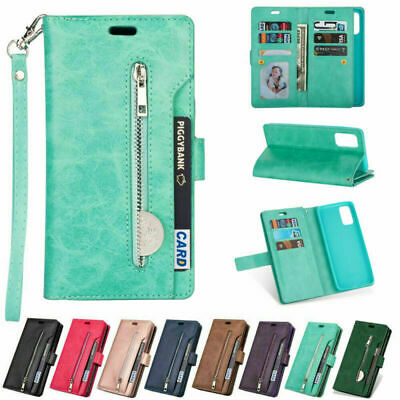 AU17.89 • Buy For Samsung S21+ Ultra Note 20 S20 S10 S9 S8 Leather Flip Wallet Case Card Cover