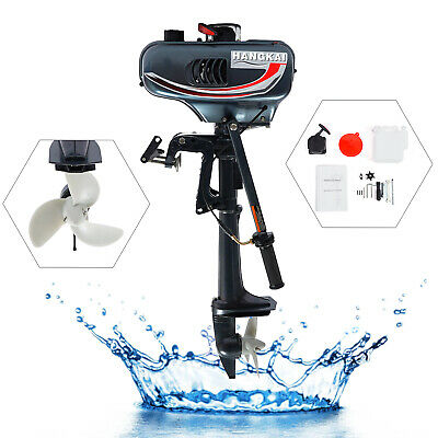 AU250.40 • Buy  Water Cooling 2-Stroke 3.5HP Outboard Engine Motor Inflatable Boat Engine USED