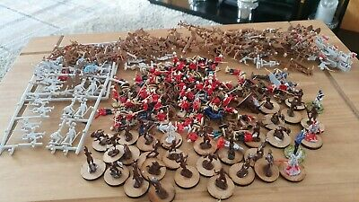 Toy Soldiers  British And Zulus Scale 1 72 • 7£